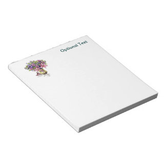 Flower Arrangement in Pink & Purple Notepad
