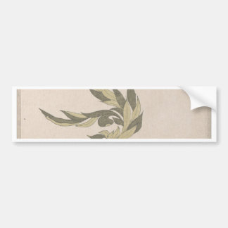 Flower Arrangement - Utagawa Itchinsai Bumper Sticker