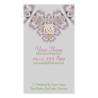 Flower Art Macro : Stamen Butterfly Business Card