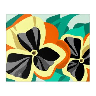 Flower Art - Pansies