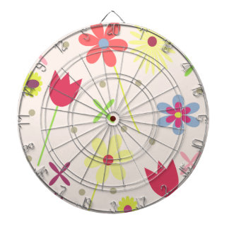 flower background for your text dartboard