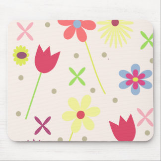 flower background for your text mouse pad