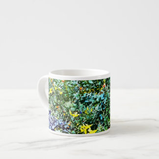 Flower Bed in Monet's Garden Espresso Cup
