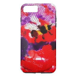 Flower Bee Floral Art iPhone 7 Plus Case