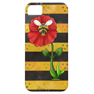 Flower Bee iPhone 5/5S case mate barely there
