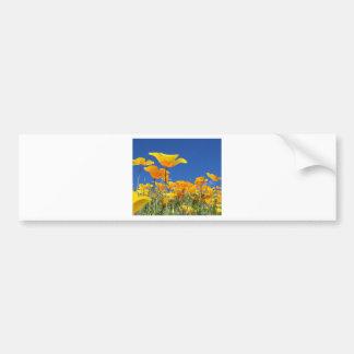 Flower Blank Card Bumper Sticker