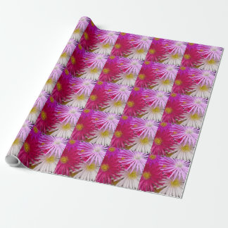 Flower Blossoms Fresh Garden Peace Love Destiny Gift Wrapping Paper