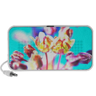 Flower Blossoms Your Doodle Notebook Speakers