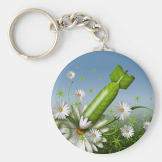Flower Bomb Key Ring
