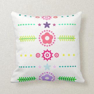 Flower Borders Cushion
