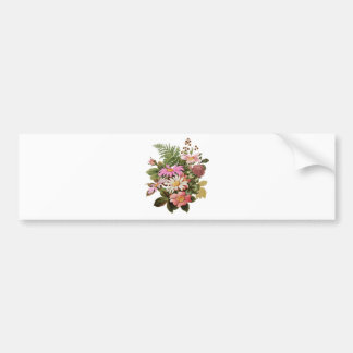flower bouquet bumper sticker