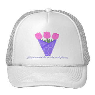 Flower Bouquet Collection Hat