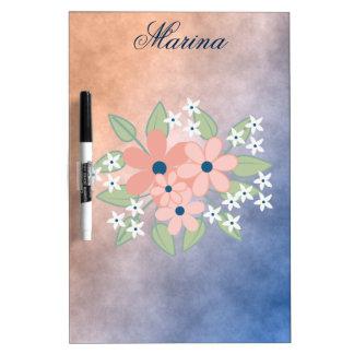 Flower Bouquet Dry Erase Board