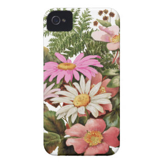 flower bouquet iPhone 4 cover