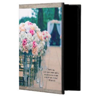 Flower Bouquet Love and Wedding Aisle Bible Verse Powis iPad Air 2 Case
