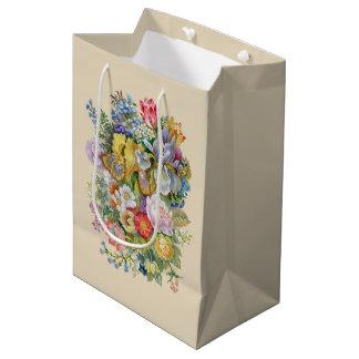 Flower Bouquet Medium Gift Bag