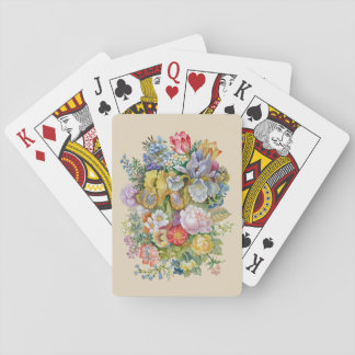 Flower Bouquet Playing Cards