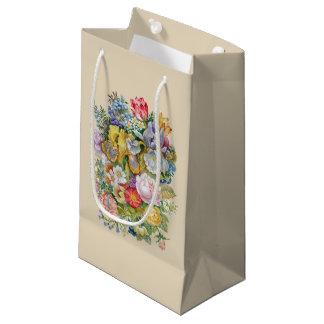 Flower Bouquet Small Gift Bag