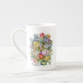 Flower Bouquet Tea Cup