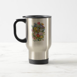 Flower Bouquet Travel Mug