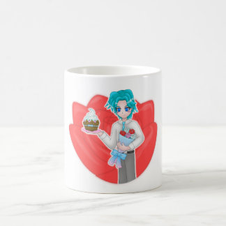 flower boy white mug