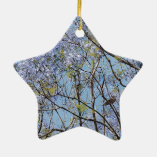 Flower Branches Christmas Tree Ornament
