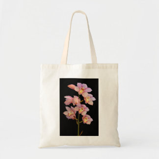 Flower Budget Tote Canvas Bags