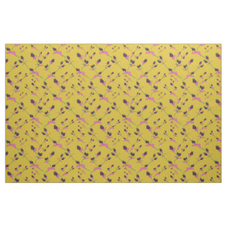 Flower buds pattern 2 fabric