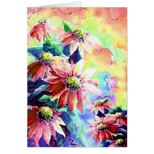Flower Burst Card