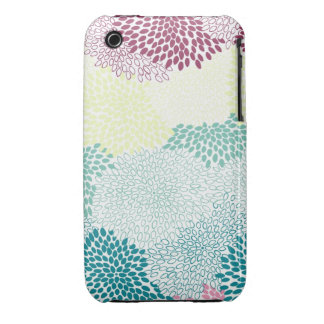 """""""Flower Burst"""" Rainbow of Colours iPhone 3 Covers"""