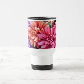 Flower Bursts Stainless Steel Travel Mug