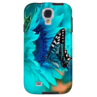 Flower & Butterfly Blue Galaxy 4 Cases
