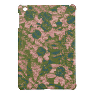 Flower camouflage pattern cover for the iPad mini