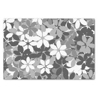 Flower camouflage tissue paper