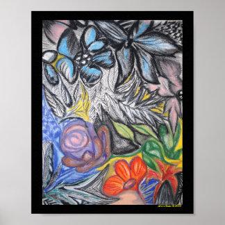 Flower Canvas Poster