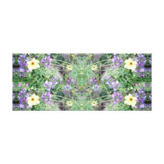 Flower Cat 1 Fractal Canvas Panel