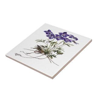 Flower ceramic  tiles