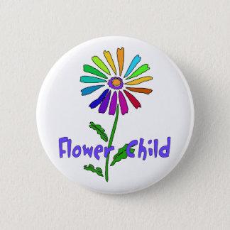 Flower Child 6 Cm Round Badge