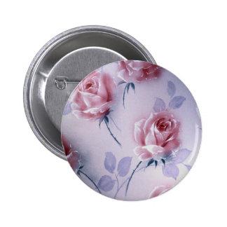 Flower chorus pinback buttons