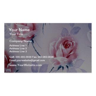 Flower chorus Yellow flowers Business Card Template