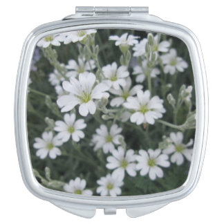 Flower Compact Mirror