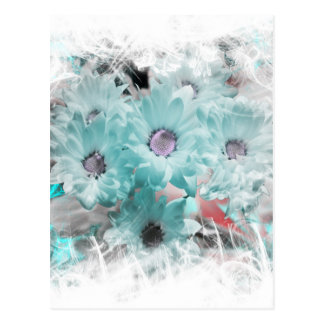 Flower creativ no.1 postcard