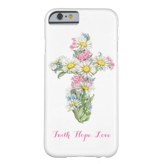 Flower Cross Phone Case