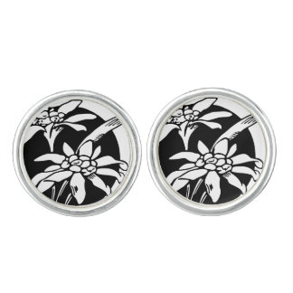 Flower Cuff Links