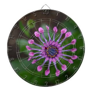 flower dart boards