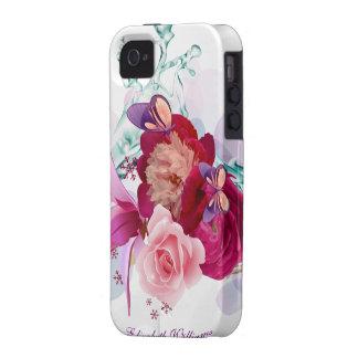 Flower Decor 12 Case-Mate Case Case-Mate iPhone 4 Cover