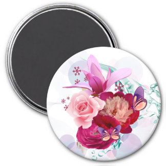 Flower Decor 12 Magnet