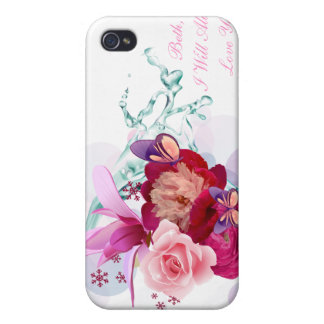 Flower Decor 12 Speck Case Case For The iPhone 4