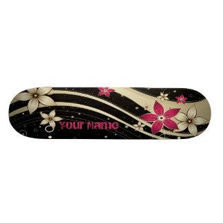 Flower Decor 19 Skateboard