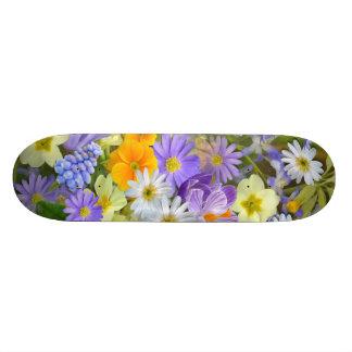 Flower Decor 49 Skateboard